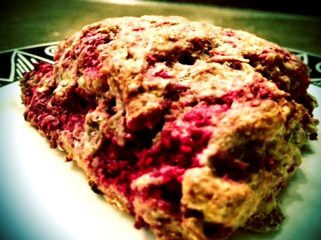 Whole-wheat Raspberry (Oh-So-Good!) Scones and the Pre-workout Meal ...