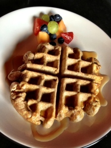 whole-wheat wonder waffle