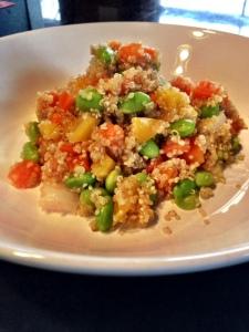 Asain Flare Quinoa Salad