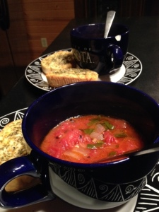 Fire roasted tomato soup.