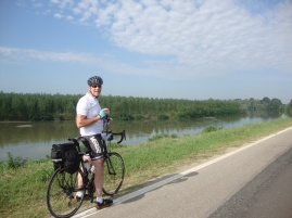 Dad on the Po River Trail
