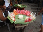 Fresh fruit at the market in Nicaragua.
