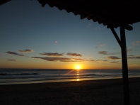 sunset in nicaragua