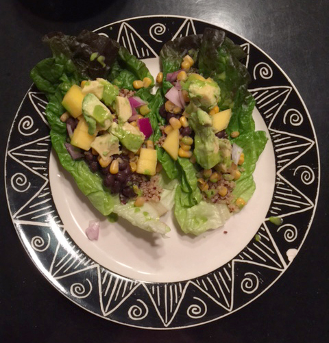 Vegan Mexican Lettuce Wraps
