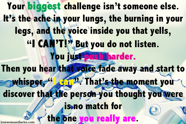 Sometimes It S Better To Push Someone Away Not Because: Monday Motivation: Your Biggest Challenge