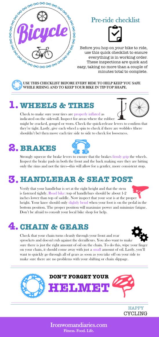 pre-ride checklist