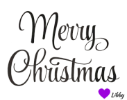 merry christmas signature