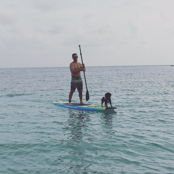 Joe-Paddle boarding